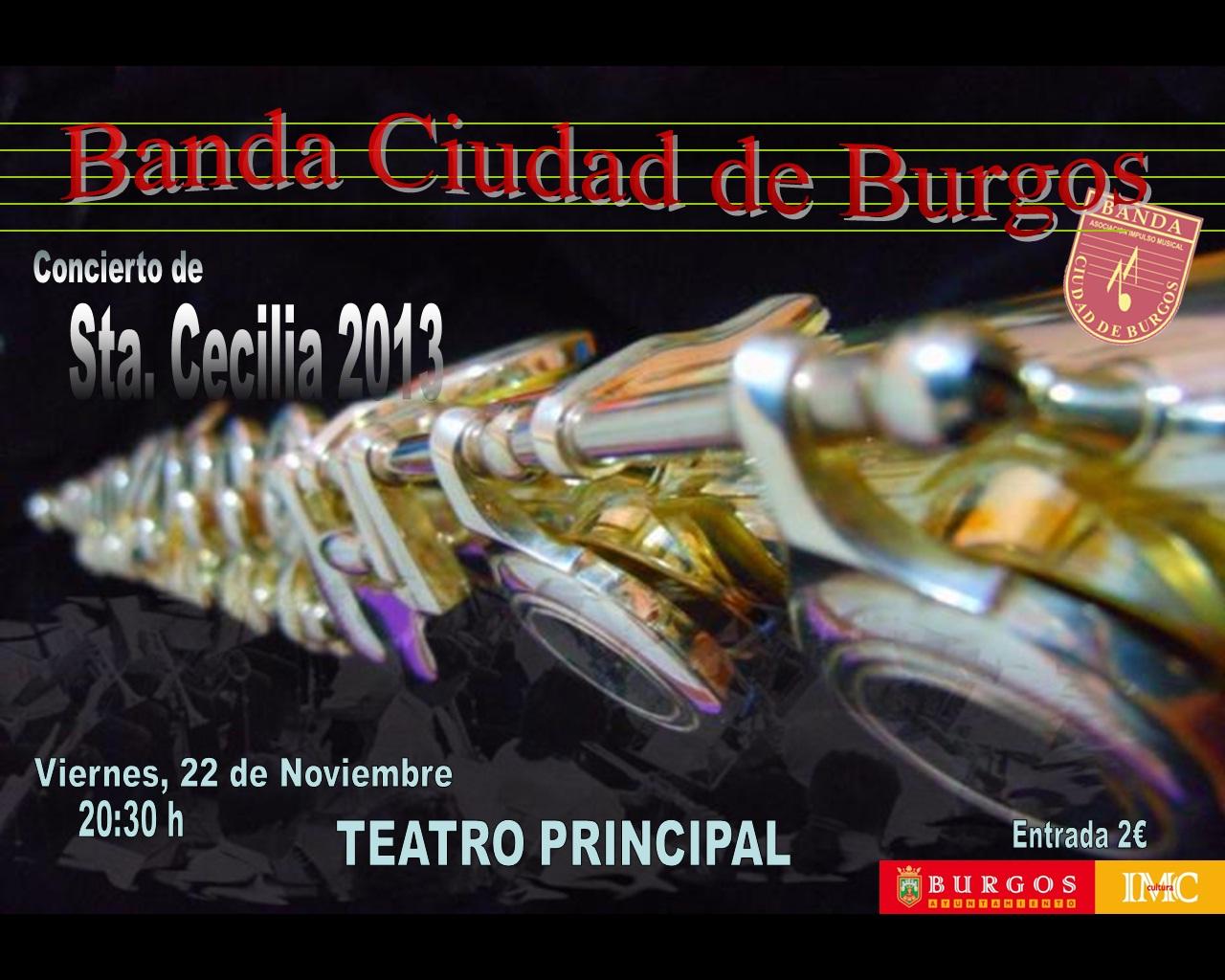 Cartel Santa Cecelia 2013