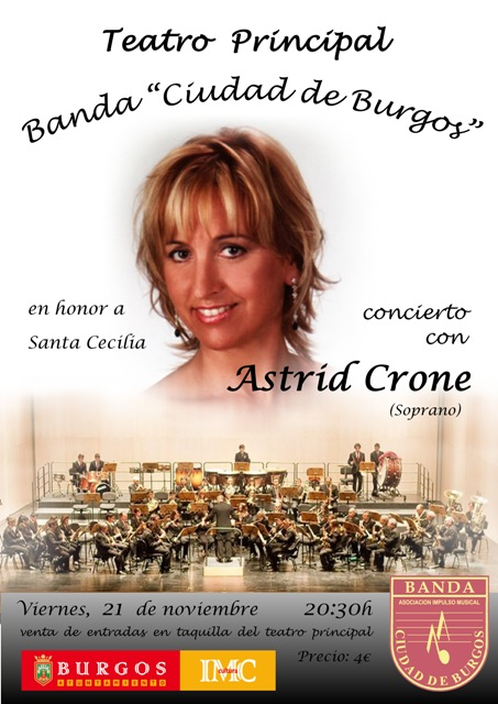 Cartel Santa Cecilia 2014 2