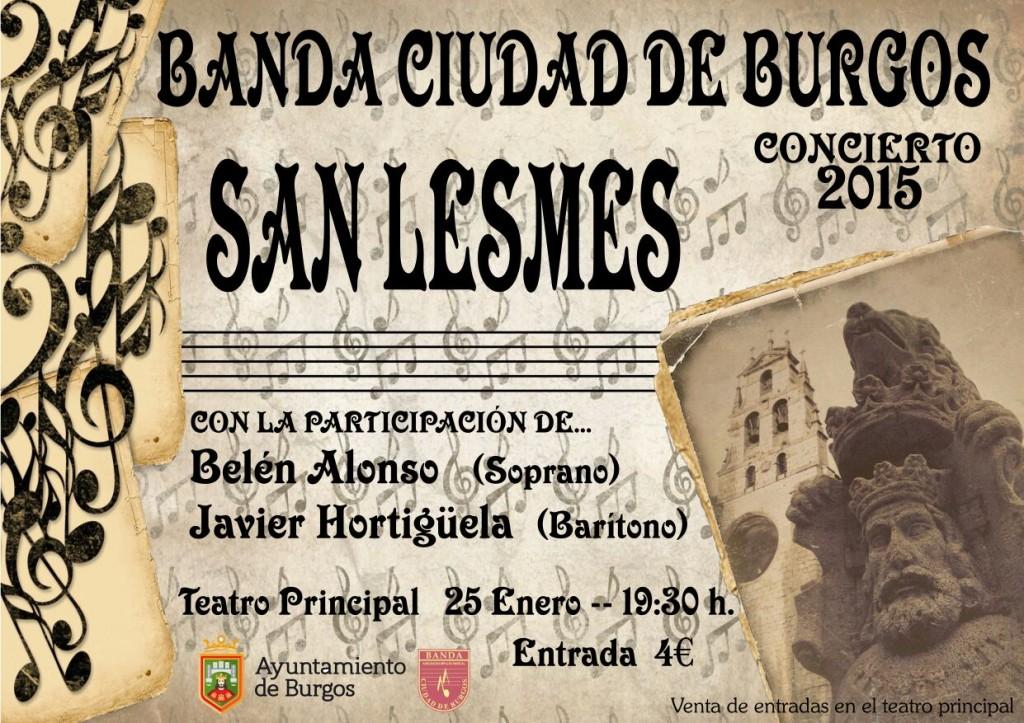 BANDA CIUDAD DE BURGOS SAN LESMES 15