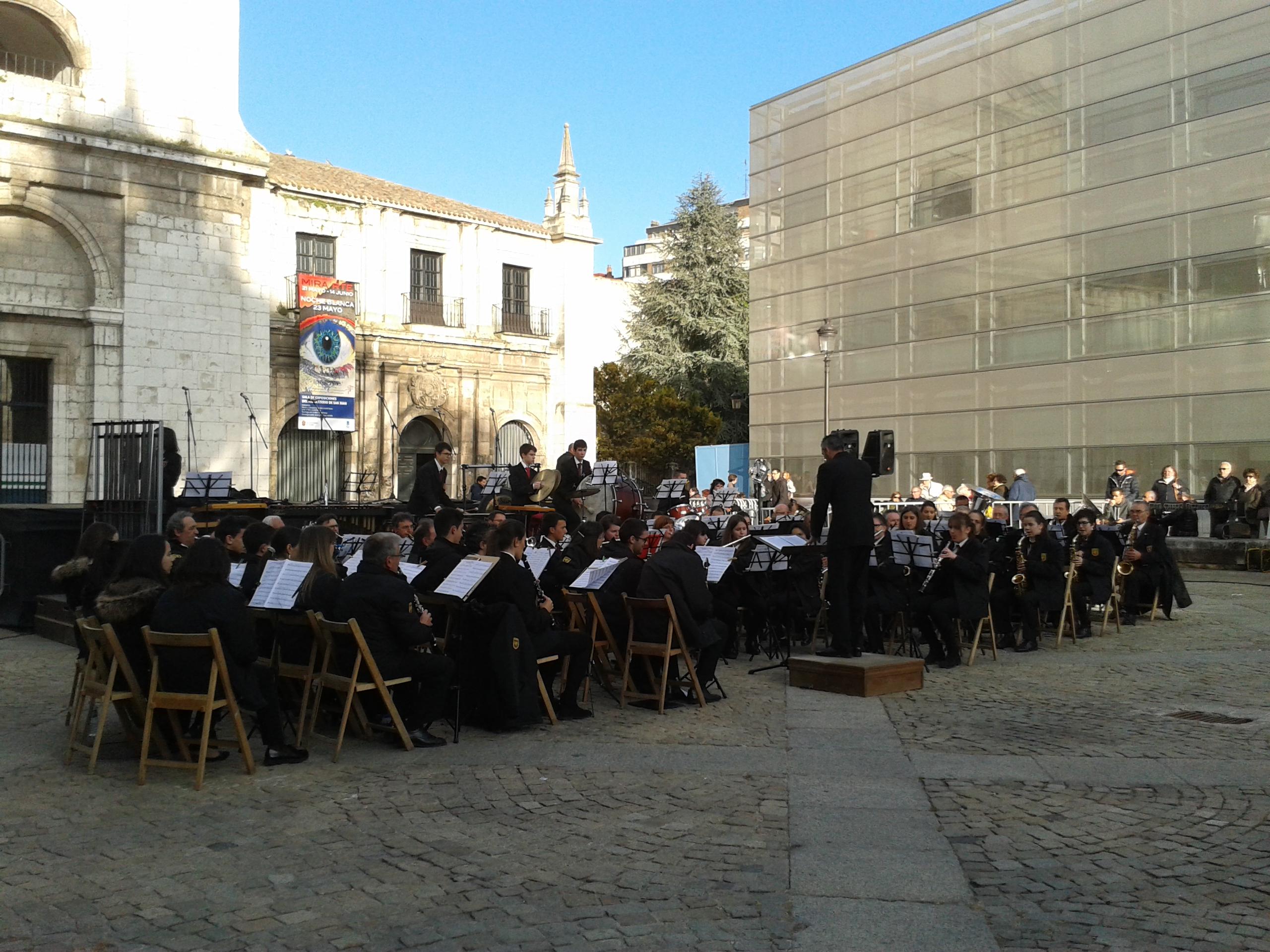 banda Ciudad de Burgos noche Blanca 15