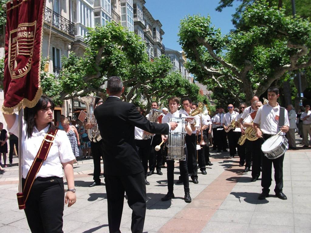 Banda Ciudad de Burgos Corpus 2015 (1)