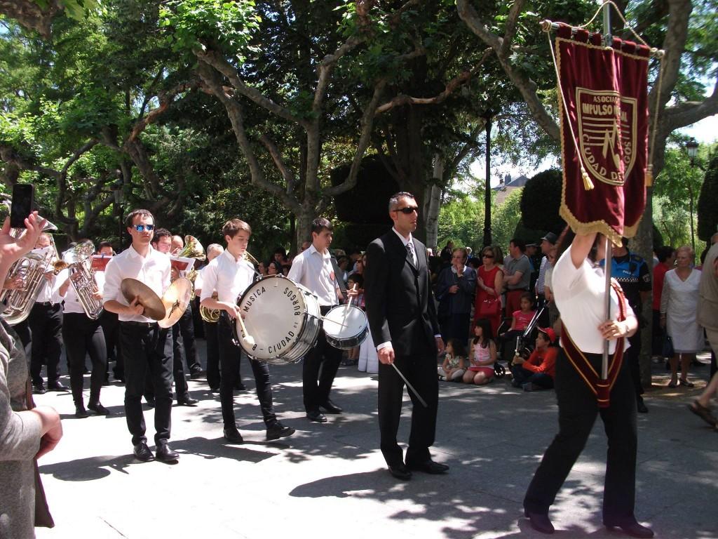 Banda Ciudad de Burgos Corpus 2015 (2)