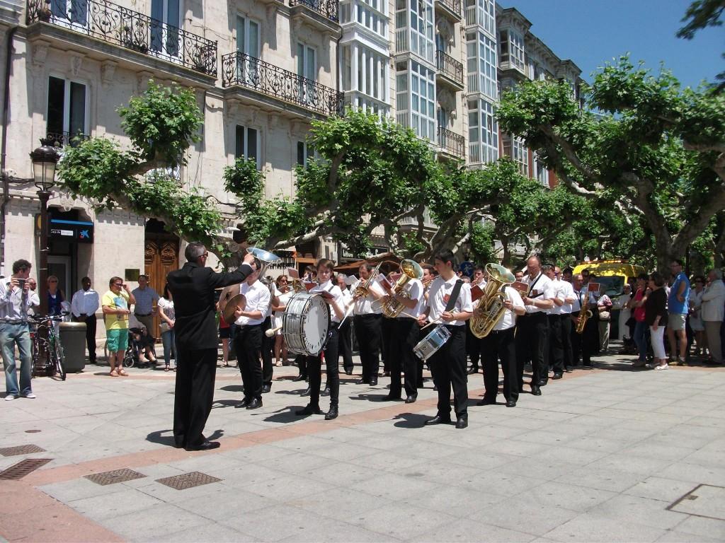Banda Ciudad de Burgos Corpus 2015 (44)