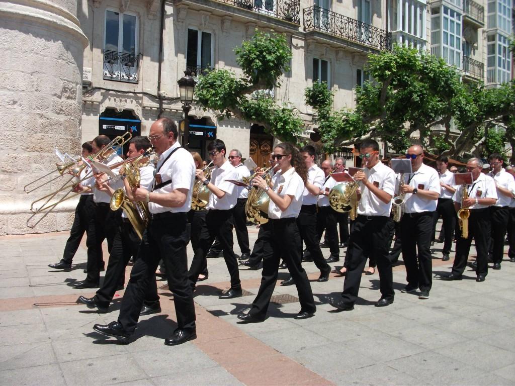 Banda Ciudad de Burgos Corpus 2015 (47)