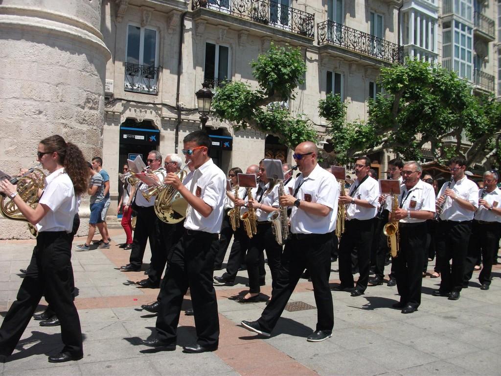 Banda Ciudad de Burgos Corpus 2015 (48)