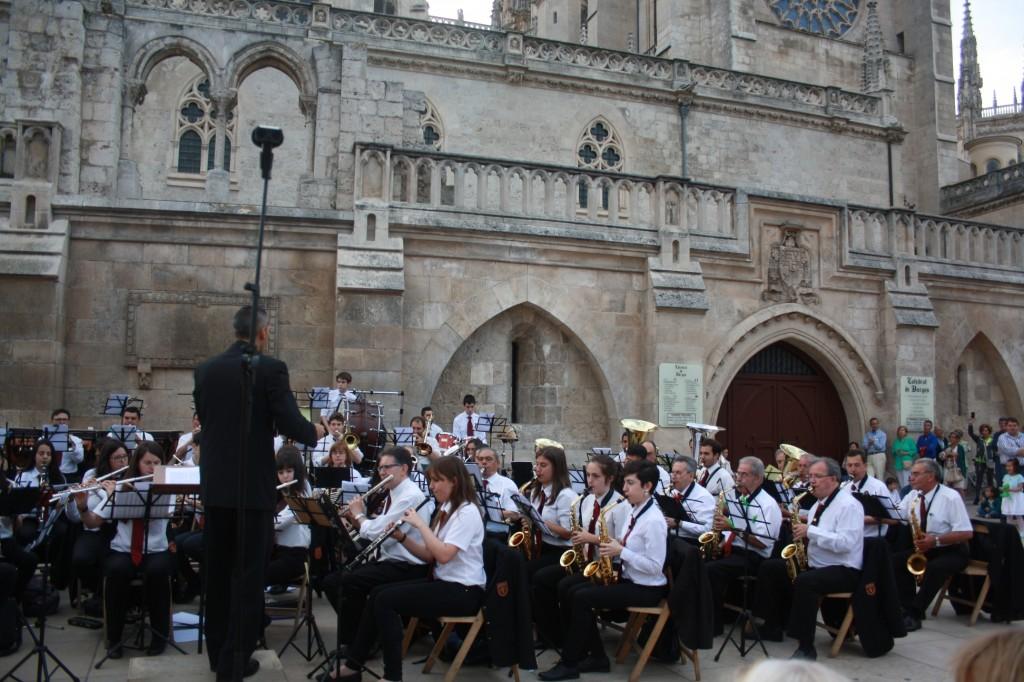 Banda Ciudad de Burgos junio 15 (5)