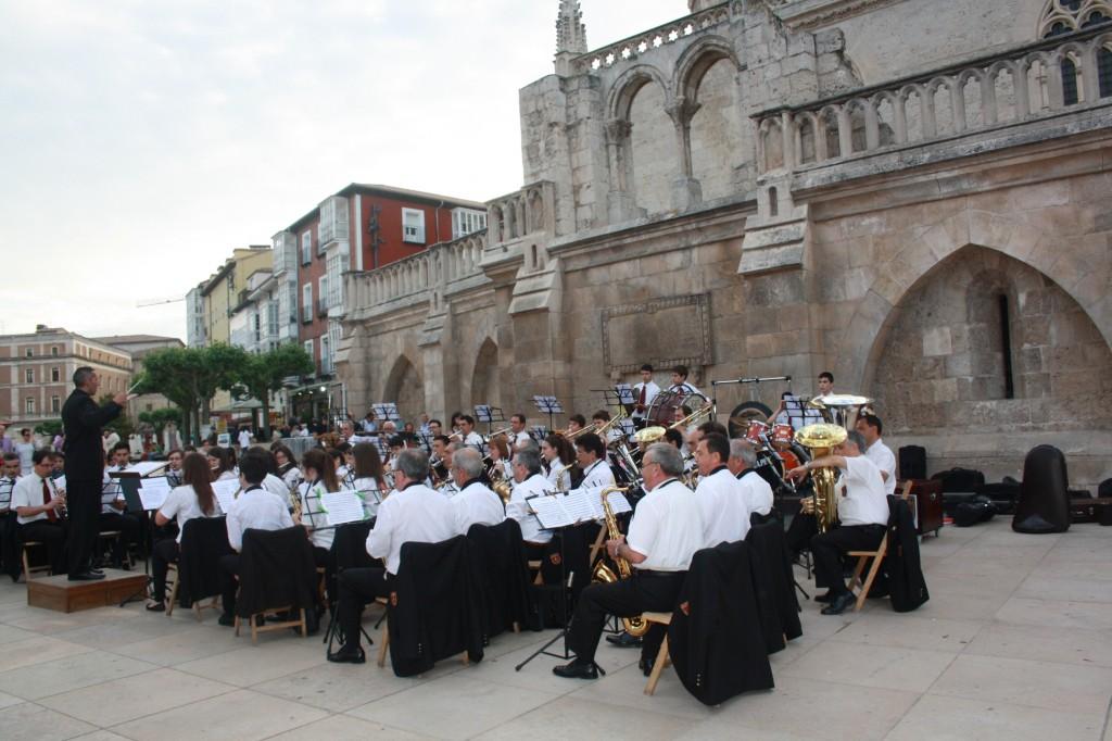 Banda Ciudad de Burgos junio 15 (6)