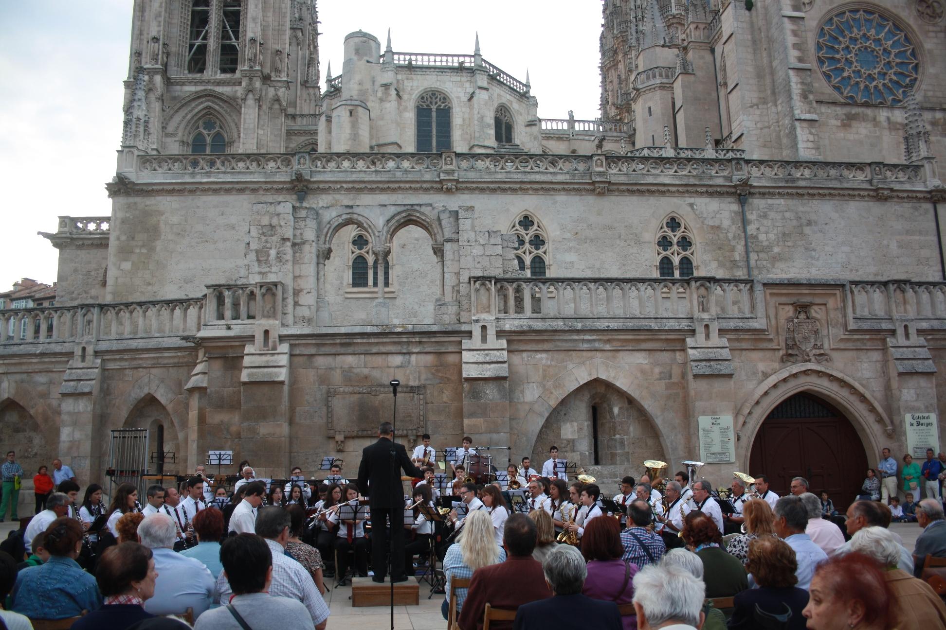 Banda Ciudad de Burgos junio 15