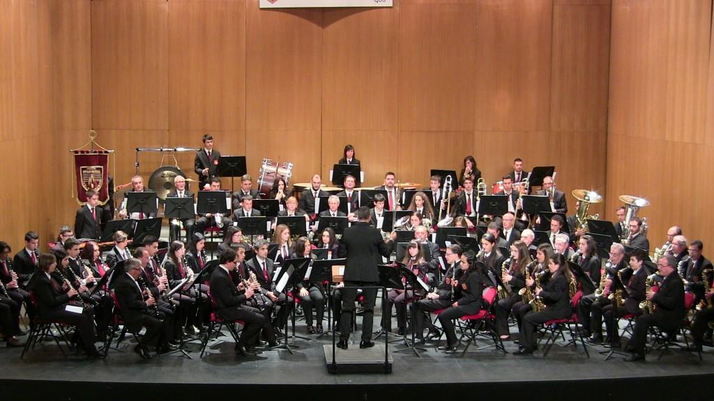 Banda Ciudad de Burgos Concierto Santa Cecilia '15