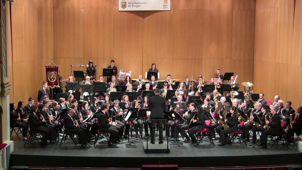 Banda Ciudad de Burgos Concierto Santa Cecilia '15 (11)