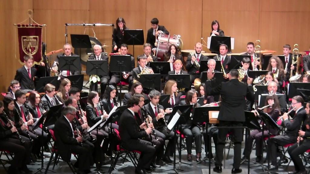 Banda Ciudad de Burgos Concierto Santa Cecilia '15 (13)
