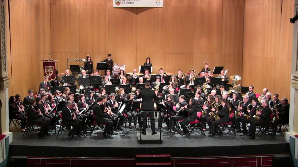 Banda Ciudad de Burgos Concierto Santa Cecilia '15 (15)