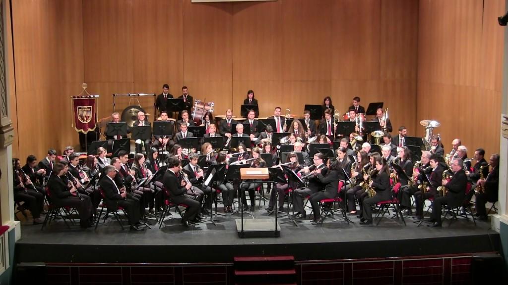 Banda Ciudad de Burgos Concierto Santa Cecilia '15 (3)