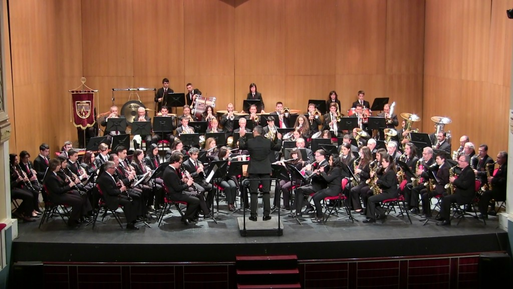 Banda Ciudad de Burgos Concierto Santa Cecilia '15 (5)