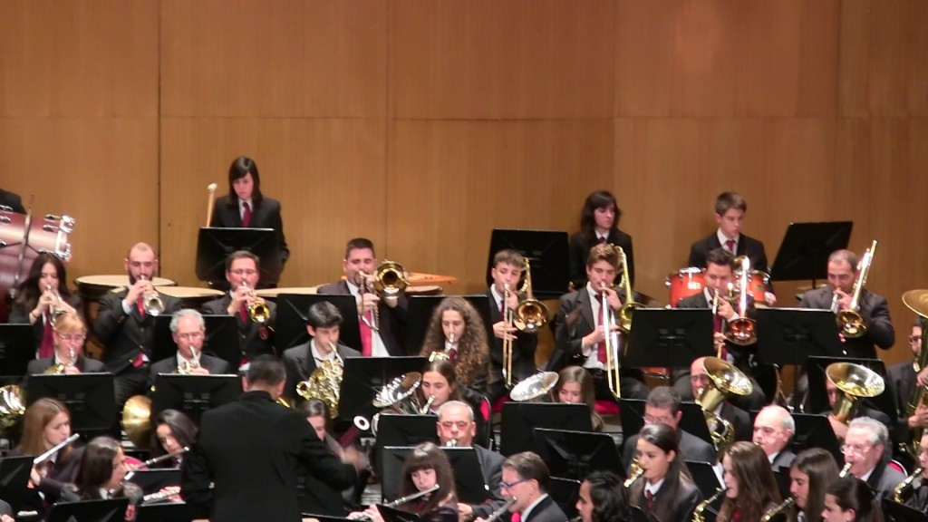 Banda Ciudad de Burgos Concierto Santa Cecilia '15 (7)