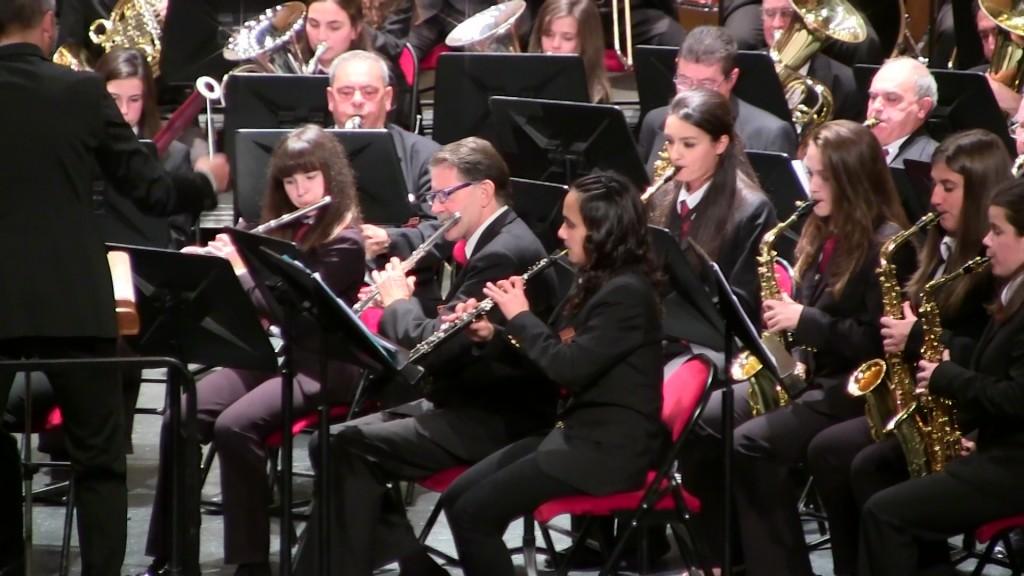 Banda Ciudad de Burgos Concierto Santa Cecilia '15 (8)