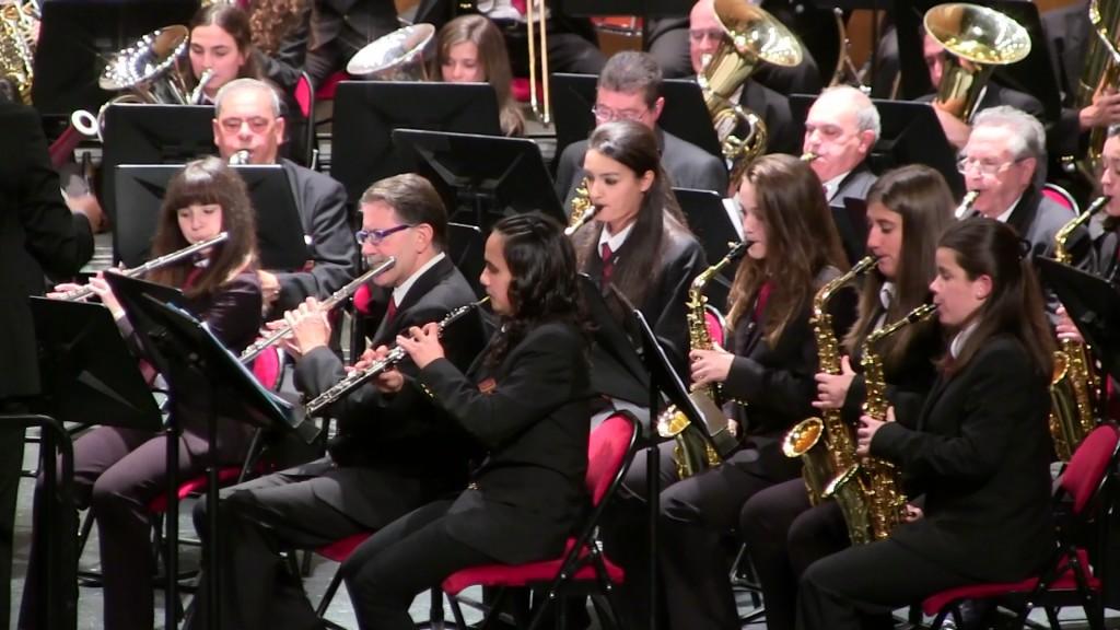 Banda Ciudad de Burgos Concierto Santa Cecilia '15 (9)
