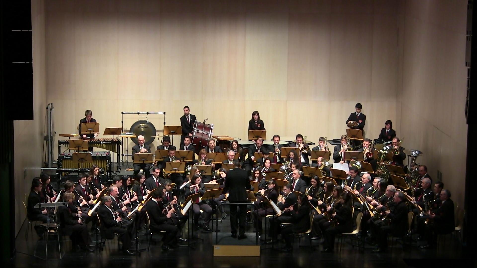 Banda Ciudad de Burgos I certamen provincial de bandas de Burgos dic 15 (11)