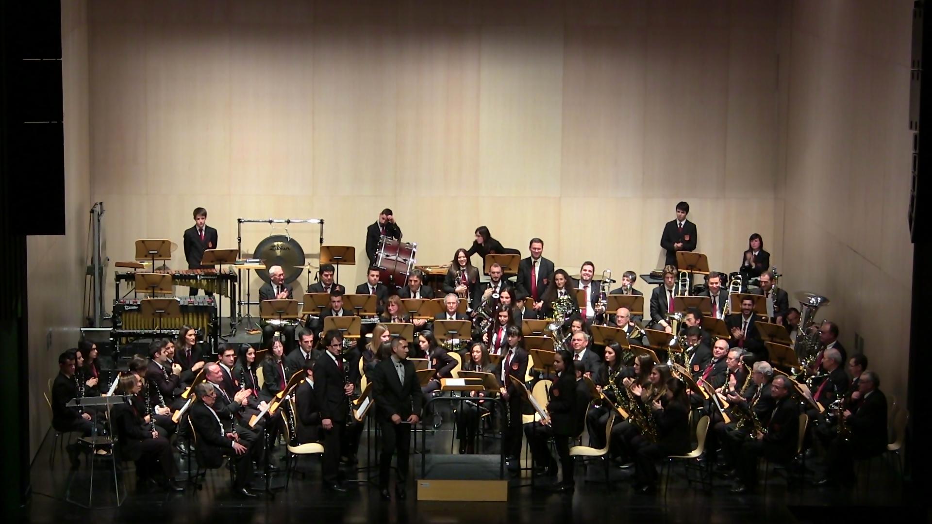 Banda Ciudad de Burgos I certamen provincial de bandas de Burgos dic 15 (12)