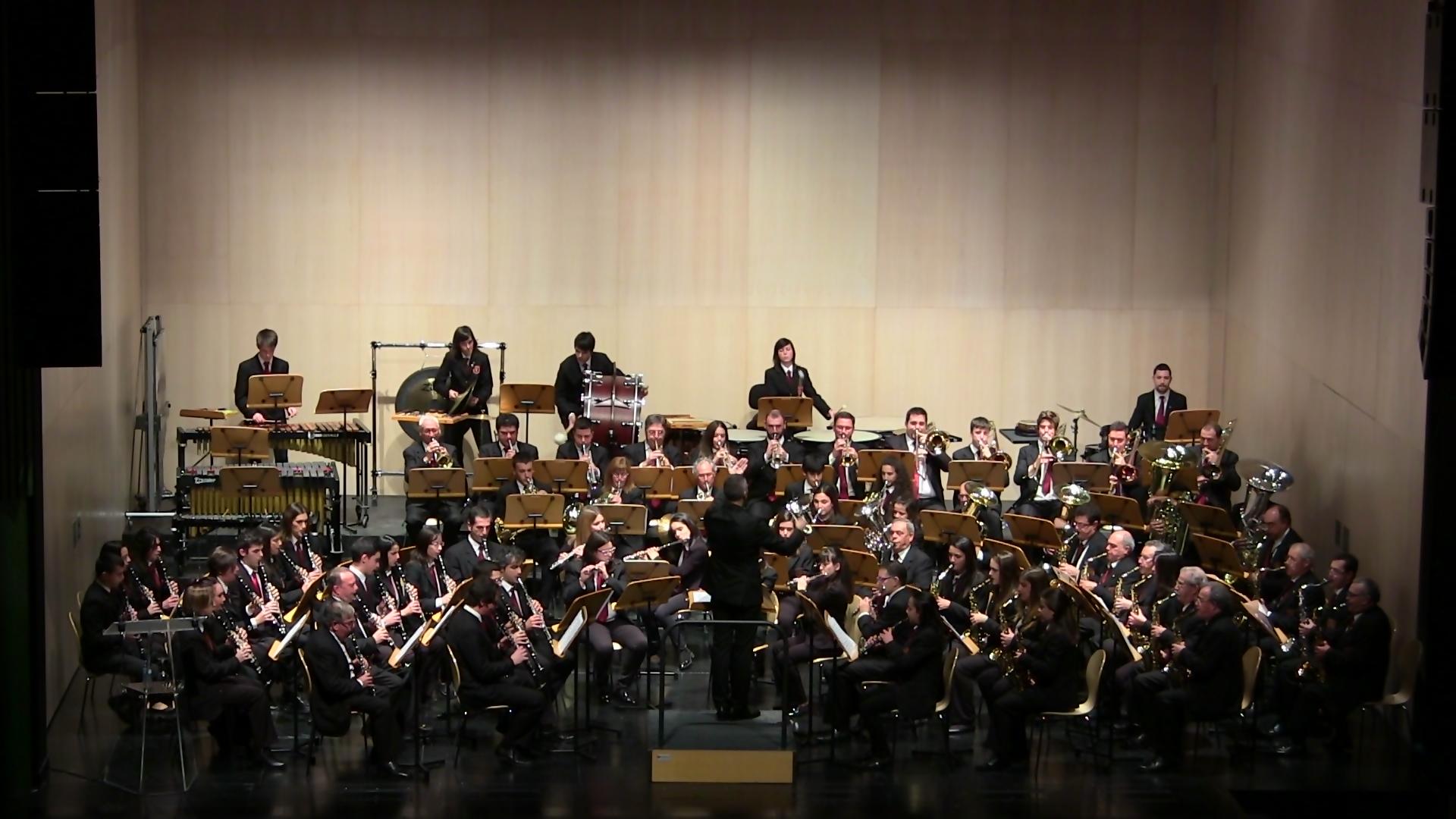 Banda Ciudad de Burgos I certamen provincial de bandas de Burgos dic 15 (4)