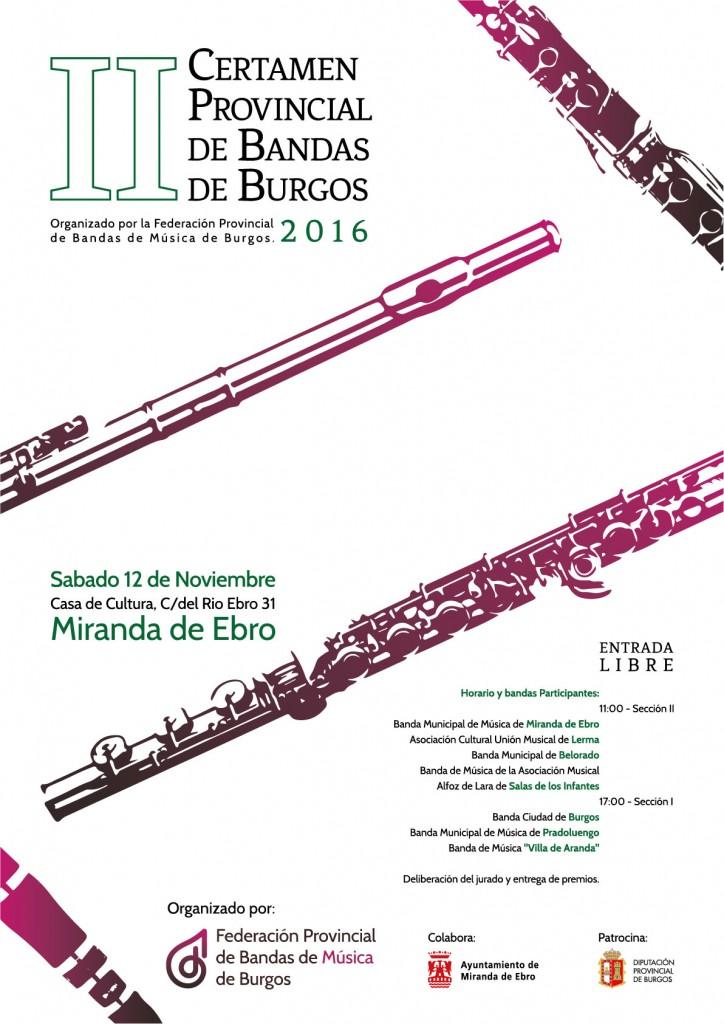 II certamen bandas de Burgos
