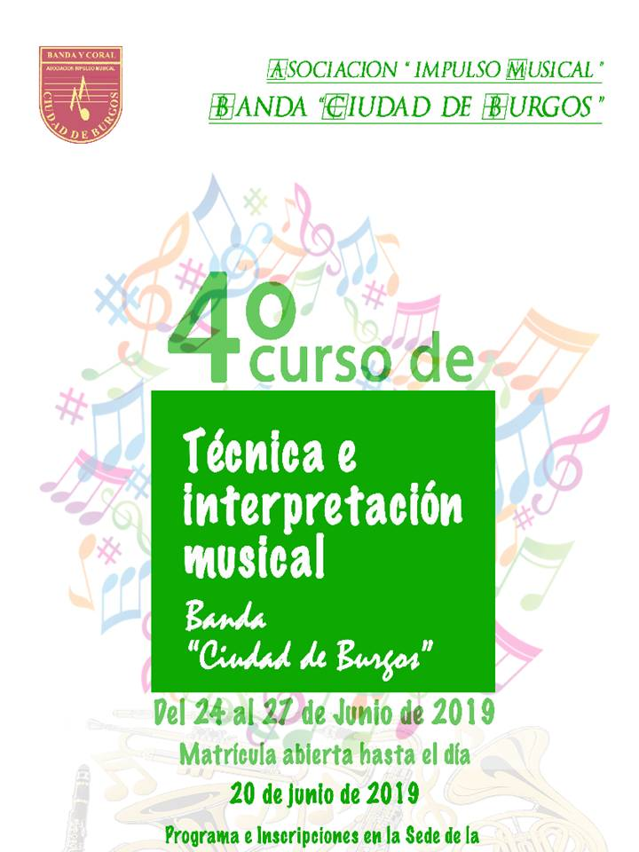 Cartel curso Tecnica 2019